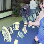 Century House on display for Wisconsin Pottery Association