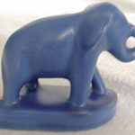 Camark pottery elephant
