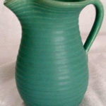 Camark pottery pitcher