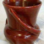 Camark pottery vase