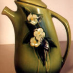 Roseville experimental vase from the 1999 Wisconsin Pottery Association exhibit