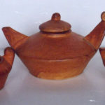 Hull House Pottery tea set