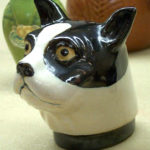 Rosemeade figure dog head